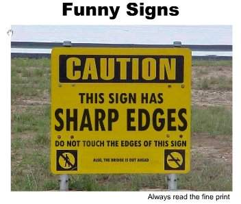 Really Funny Traffic Signs