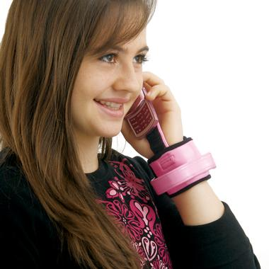 Wrist Phone Carrier