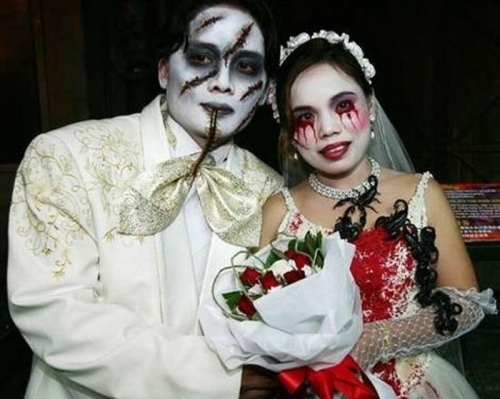 Newlyweds from the Underworld