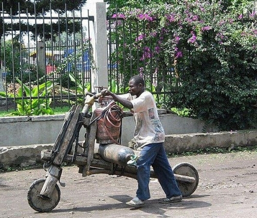 The Absolutely Environment Friendly Motorbike