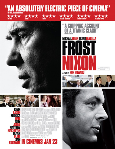 Frost Nixon - Top 10 Political Movies