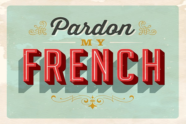 Paradon my french