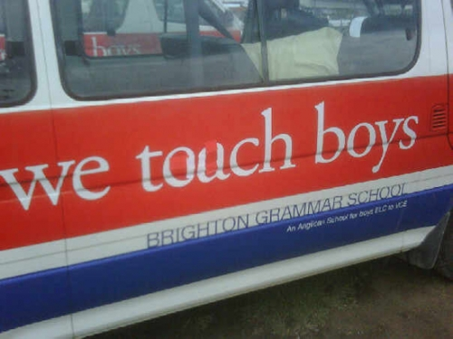 We Touch Boys