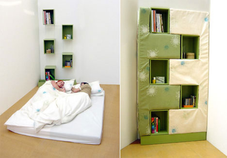 Bed Bookcase