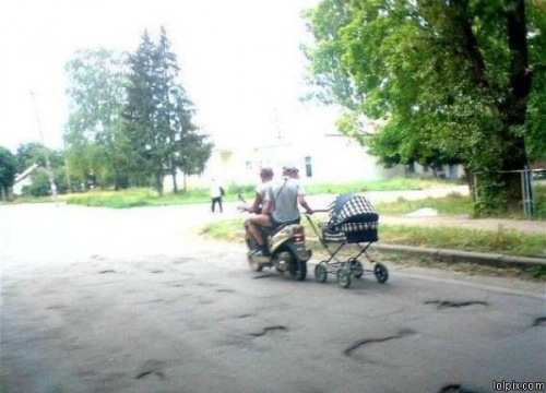 Walking the Baby