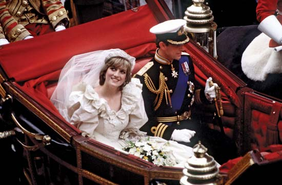 Prince Charles of United Kingdom and Diana Spencer 1981